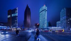 Potsdamer Platz by night