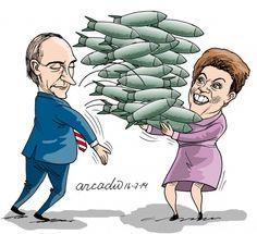 Los temas de Putin y Dilma
