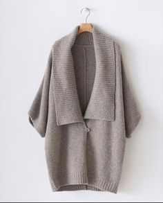 (via Poetry - Chunky Knit Jacket)