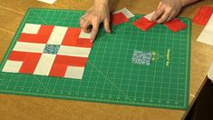 Quilting Quickly: Geo Grid - Throw Quilt Pattern