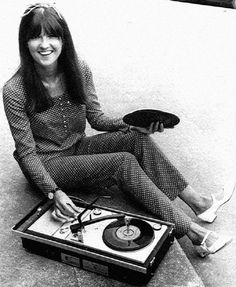 Ready steady girl - portable record player - c 1965.