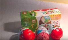 unboxing eggs surprise.