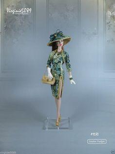 tenue outfit + accessoires pour fashion royalty barbie silkstone vintage #1583 | eBay