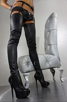 Thigh High Boots Heels, Stiletto Boots, Sexy High Heels, Heeled Boots, Stockings Heels, Nylons Heels, Crotch Boots, High Leather Boots, Sexy Boots