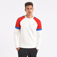 Tricolore Crew Sweat - 1710872