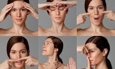 The ultimate facercise: Forget Botox, nips and tucks. in just six days you can get a younger, firmer face - naturally The ultimate facercise: Forget Botox, nips and tucks. in just six days you can get a younger, firmer face - naturally . Facial Yoga, Facial Massage, Beauty Care, Beauty Hacks, Hair Beauty, Beauty Skin, Face Exercises, Luscious Hair, Home Remedies For Hair
