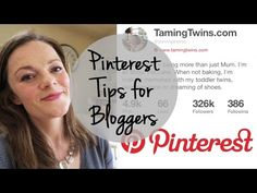 Pinterest Tips for Bloggers | TamingTwins.com - YouTube
