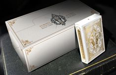 Nicolai Aarøe is raising funds for Dominus Playing Cards on Kickstarter! 2 limited ed. decks with metallic ink and gold foiled, embossed tucks. II in the 'Light vs. Darkness' series by Nicolai Aarøe. Custom Decks, Alcohol Drink Recipes, Cartomancy, Print Coupons, Creative Cards, Tarot, Brick, Alcoholic Drinks, Branding Design