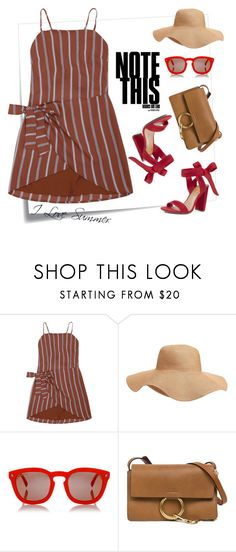 """What to wear today?"" by fsjamazon ❤ liked on Polyvore featuring Post-It, Old Navy, Dsquared2 and Chloé"