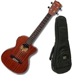 Kala KA-SMHGC All Solid Mahogany Concert Ukulele w/Deluxe 20mm Padded Gig Bag by Kala. $149.00. There is a traditional, vintage look and sound to these Kala KA-SMHGC Ukuleles. They are trimmed with faux tortoise shell binding and have a Mahogany neck with rosewood fingerboard. These ukes have a very simple satin finish that keep the look and sound, nice and clean with excellent projection.