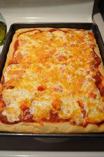 sharon moore recipes: Homemade Pizza