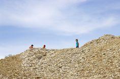 Fossilien sammeln im Naturpark Altmühltal