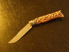 Petite Modif Opinel - Page 2 Opinel Knife, Bone Carving, Blacksmithing, Cannes, Random, Crochet, Design, Style, Knives