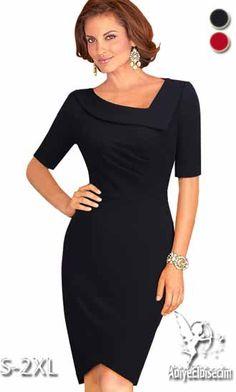 BAYAN+ELBiSE Lovely Dresses, Formal Dresses, Mother Of Groom Dresses, Chic Dress, Pencil Dress, Girls Be Like, Special Occasion Dresses, Fashion Dresses, Cold Shoulder Dress