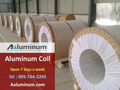 Tons of Anodized, Colored, Coated Aluminum Coil ready to ship. We are the major Supplier of Aluminum Coil In Toronto, Ontario Canada and USA Aluminium Sheet, Aluminum Metal, Durham Region, Aesthetic Value, Radiant Heat, Window Frames, Metal Fabrication, Toronto Canada