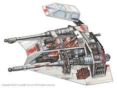 Snowspeeder - Still my favorite Star Wars vehicle.