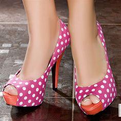 Escarpins women fuchsia heels 12 cm size 39, online buy Escarpins woman MODATOI