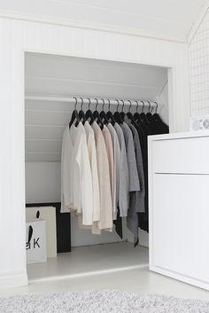 Attic Bedroom Storage, Attic Master Bedroom, Attic Bedroom Designs, Attic Closet, Attic Bedrooms, Master Closet, Closet Bedroom, Home Bedroom, Bedroom Decor