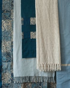 Natural Bed Company - Indian Duvet Covers - Buy Online - Ethiopia Blue and Kalamkari Indigo duvet covers
