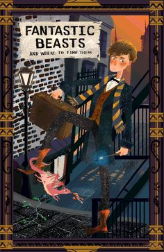 Newt Scamander - Fantastic Beasts and Where to Find Them gif by Asta