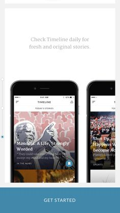 Timeline App - News That Matters