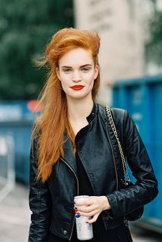 Beautiful make up for redheads.