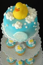 Rubber Ducky Cake Idea...I think we found a winner!
