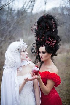Snow white Evil Queen by adriennemcnellis, via Flickr