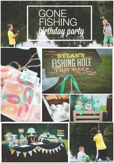 Fishing Themed Birthday Party