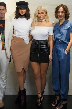 Kylie Jenner wearing Kendall + Kylie Angel Pumps