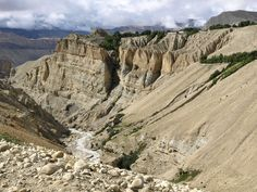 Hiking and trekking in Upper mustang is adventure holiday trip. It was the landscape of upper mustang trail.