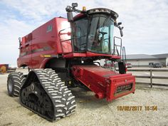 CaseIH 8240 axial flow on tracks