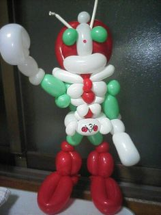 Ballon Animals, Balloon Cartoon, Cartoon Characters, Balloons, Animation, Dolls, Christmas Ornaments, Holiday Decor, Disney