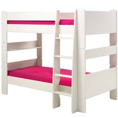 Popsicle  Twin-over-Twin Bunk Bed ($770) ❤ liked on Polyvore featuring home, children's room and children's furniture