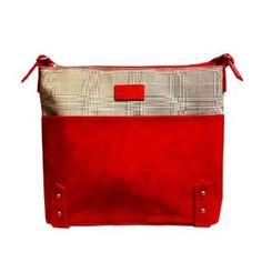 Red Apple-bedge Lady Chic Handbag