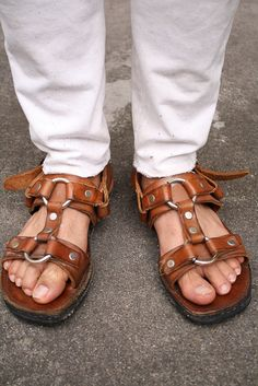 Doll Shoes, Men's Shoes, Dapper Dan, Male Feet, Leather Sandals, Men Sandals, Huaraches, Birkenstock, Street Style