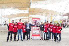 San Marino ha aderito all'ActionAid Day e alla campagna #cibopertutti, un'iniziativa di sensibilizzazione e raccolta fondi tramite #SMS45599 per ripensare il cibo come un diritto di tutti. Presso il nostro padiglione, le persone che avranno contribuito alla campagna, riceveranno sorprese speciali e regali fino a esaurimento scorte.  #SanMarinoExpo   #expo2015   #cibopertutti   #SMS45599