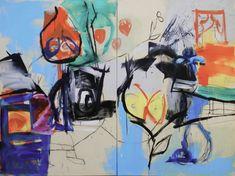 Diptyque étape 1 : Le Maréchal absolu, septembre 2012, 195 x 260 cm.Voir les (...)