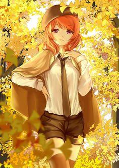 Maki in the Fall [Love Live!]