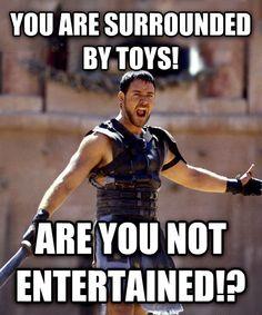 livememe.com - Maximus - Are You Not Entertained? LOL meme funny