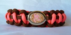 Custom Handmade Paracord Bracelet with a by NaNasCraftCreations, $16.00