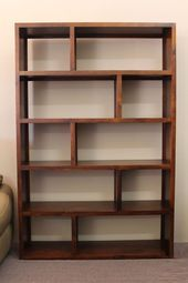 To inspire you cube cubical storage organizer shelf & room divider 26 - The Effective Pictures We Offer You About diy clothes A quality picture can tell you many things. Pallet Furniture, Furniture Projects, Furniture Design, Plywood Furniture, Bookshelf Design, Wall Shelves Design, Bookshelf Ideas, Diy Bookcases, Room Divider Shelves