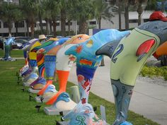 Clearwater's Dolphins by Clearwater Beach Chamber, via Flickr