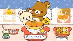 #Rilakkuma <3 Japanese food & desserts #katsudon |( ̄3 ̄)|