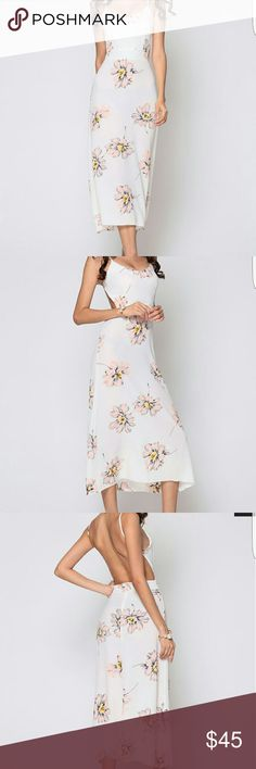 ***COMING SOON*** Cute Floral Dress!! Cute floral printed dress with spaghetti straps. Great for a party of any kind!! Dress length stops above the ankles (sorry for the cut off in pictures). Brand new. Dresses Midi