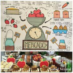 "Mesa dulce ""Mercado"""