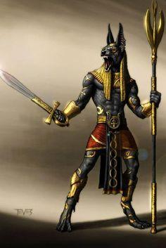 Eye Of Anubis, Anubis And Horus, Anubis Mask, Egyptian Mythology, Egyptian Art, Anubis Drawing, Egyptian Cat Tattoos, Anubis Statue, Tomb Kings