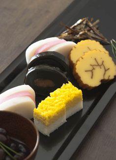 Japanse Osechi, New Year's Celebration Dish|おせち皿
