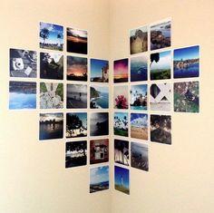 19 ideas geniales de Pinterest para decorar con fotos — cribeo