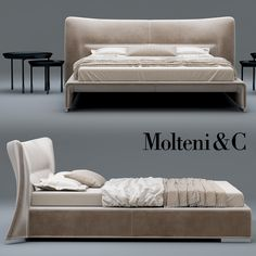 3d glove bed molteni model Bed Back, Bed Design, Sofa Bed, Furniture Upholstery, Bedroom Furniture, Fur Bedding, Master Room, Bed Head, Headboards For Beds